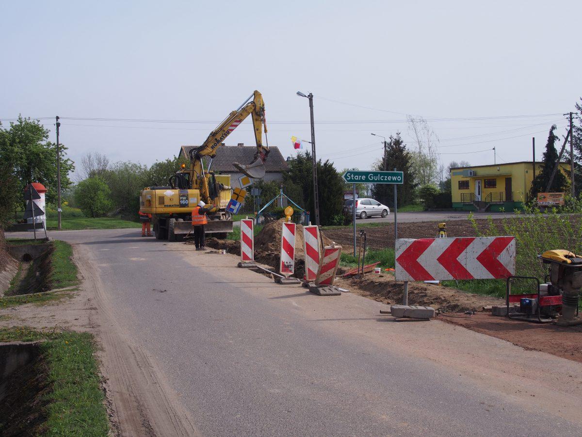 UWAGA! Budowa drogi na Rydzynie