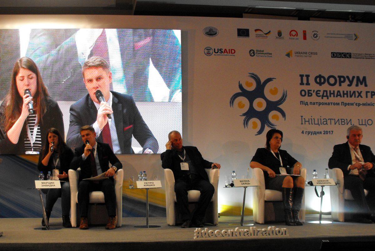 Wójt Słupna na międzynarodowym forum w Kijowie