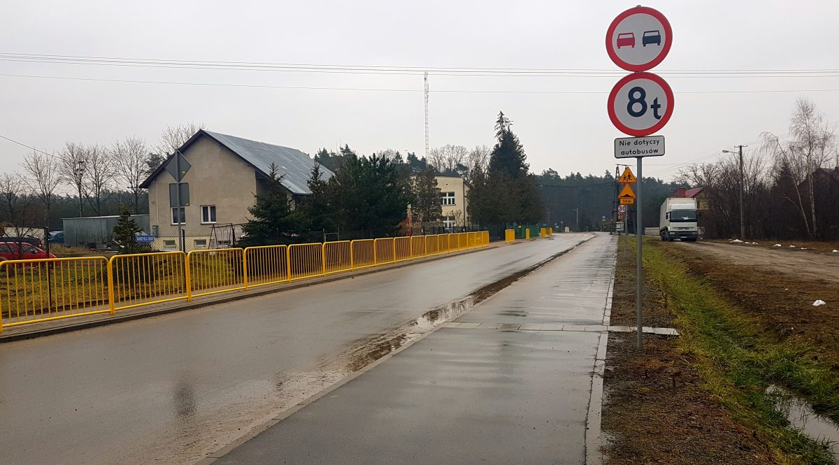 Rozbudowa drogi Borowiczki-Pieńki – Liszyno
