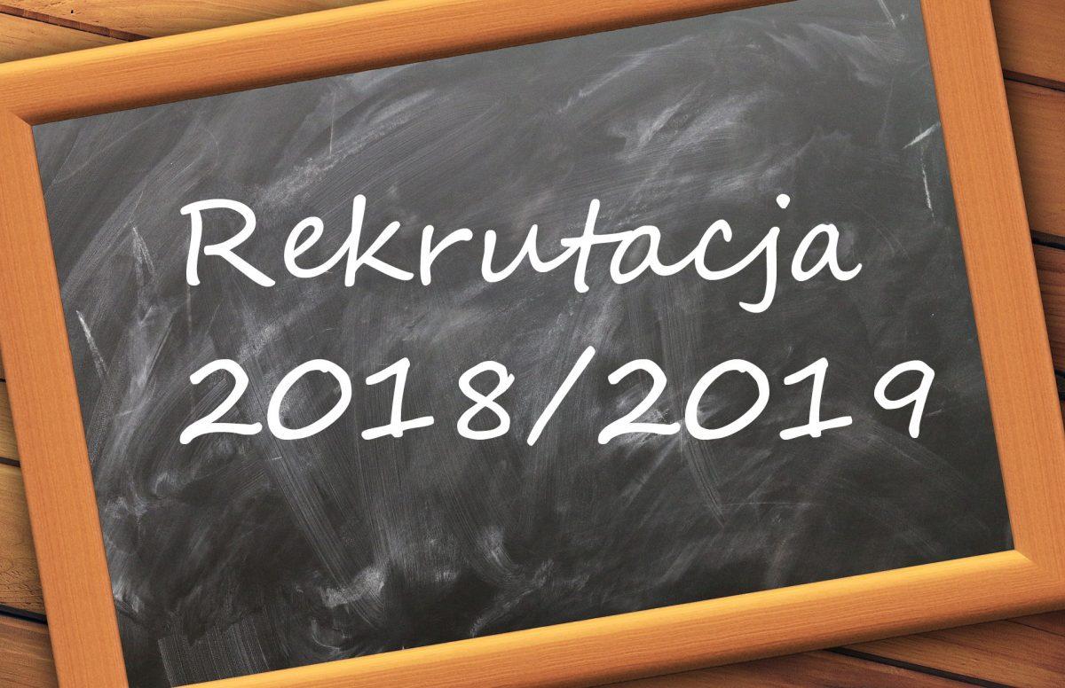 Rekrutacja do szkół 2018/2019