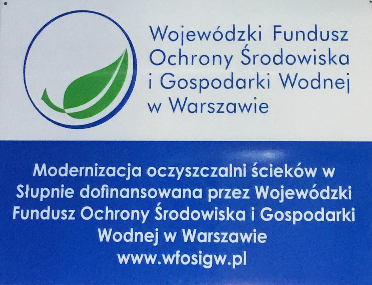 Modernizacja oczyszczalni ścieków -finansowanie