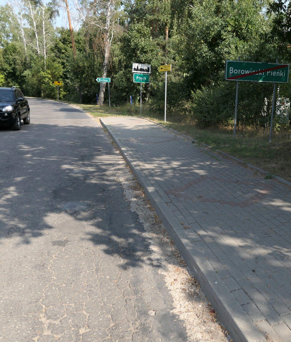 Przygotowania do inwestycji w Borowiczkach – Pieńkach