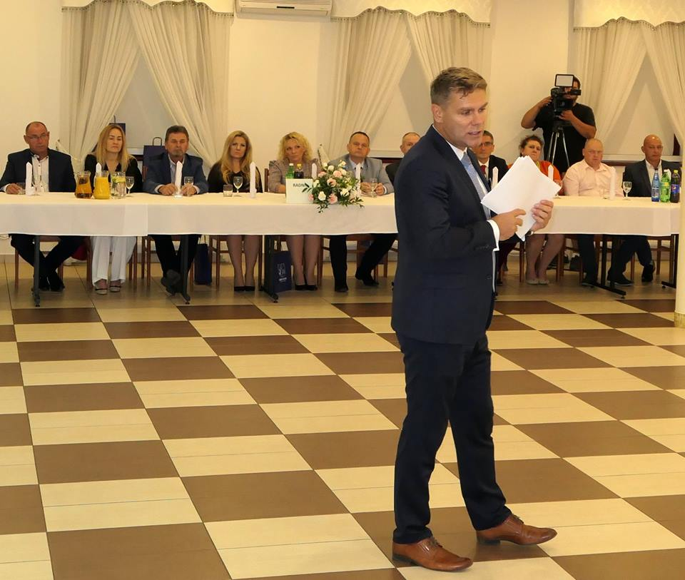 Spotkanie wójta z Radą Społeczno-Gospodarczą