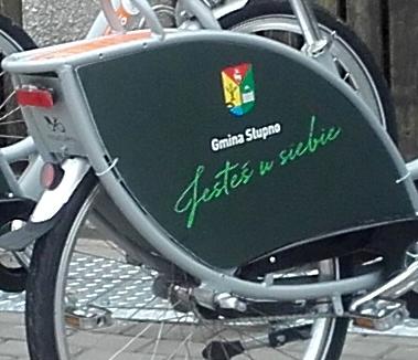 Rowery w barwach Gminy Słupno