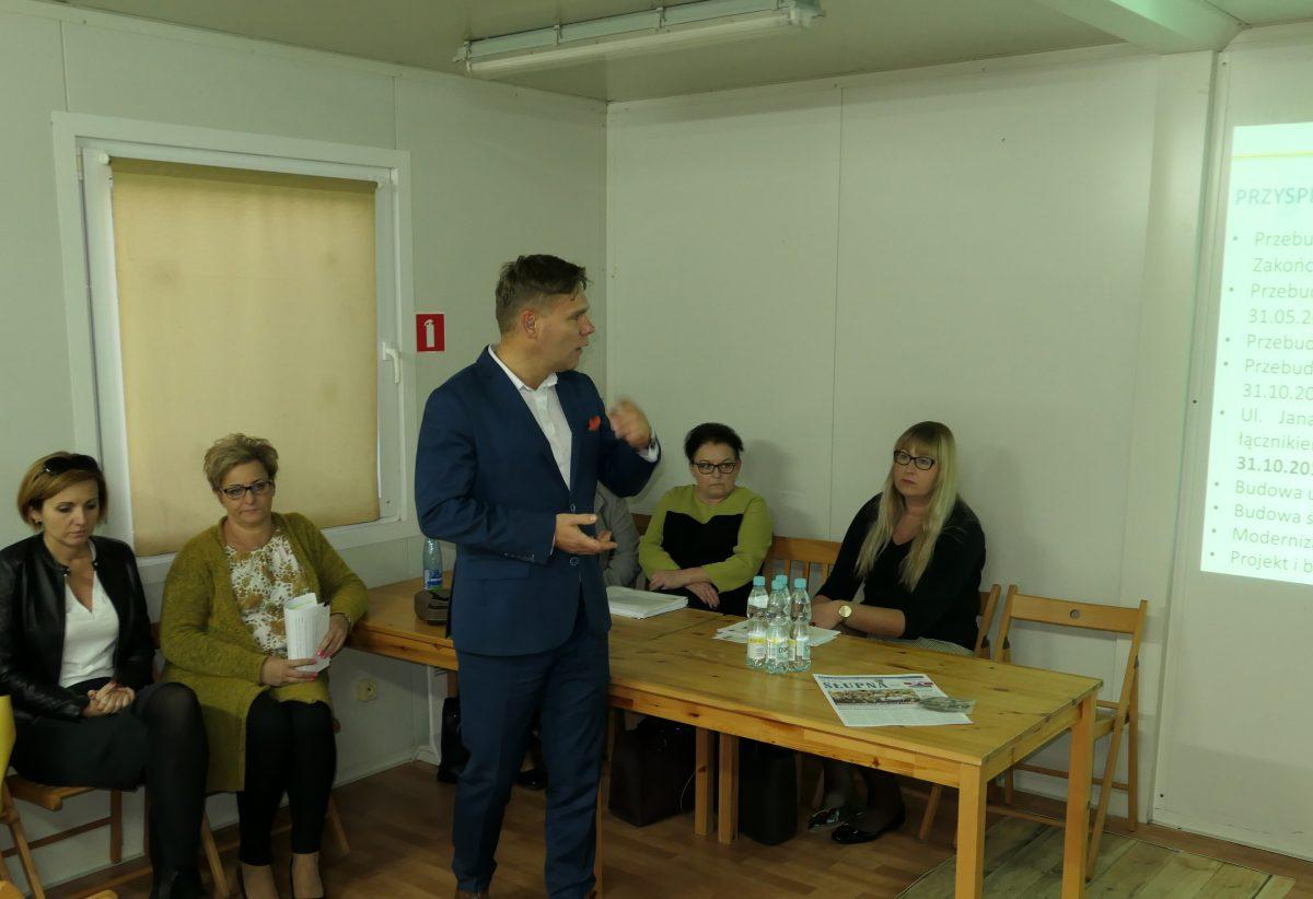 Spotkanie wójta w Szeligach