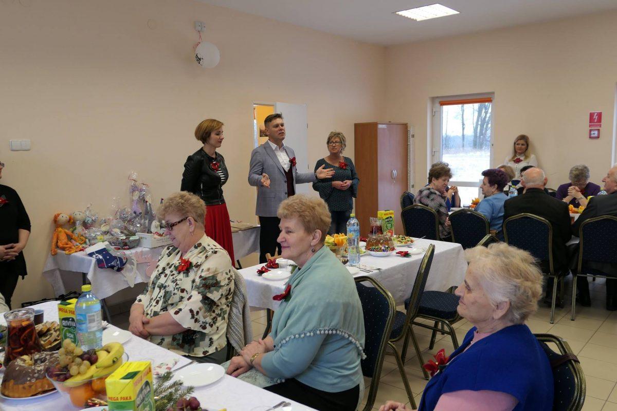 Spotkanie wigilijne w Centrum Aktywności Seniora