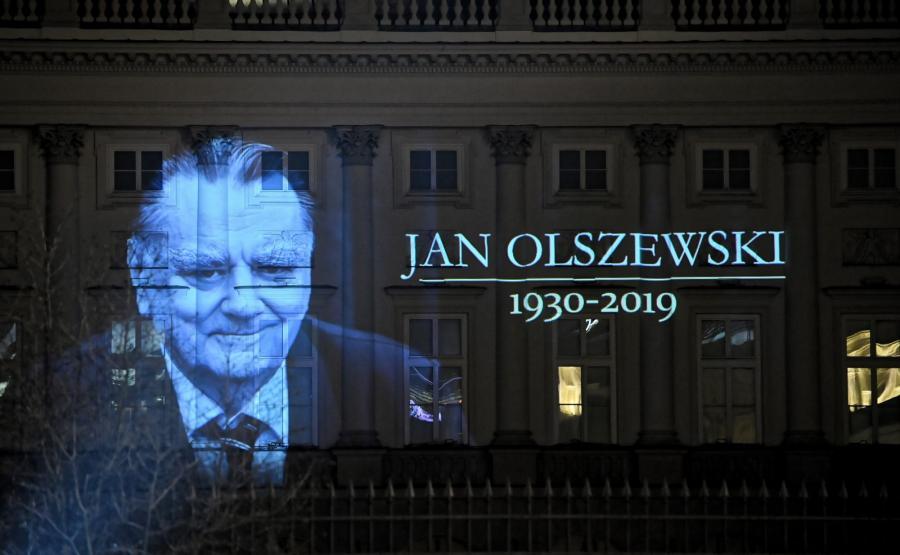 Rozpoczęła się żałoba narodowa po śmierci b. premiera Jana Olszewskiego