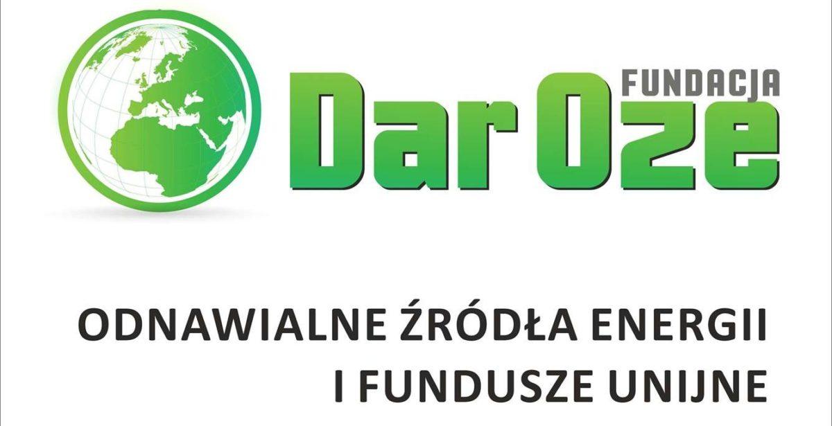 Fundacja DAR Oze -informacja o dofinansowaniu