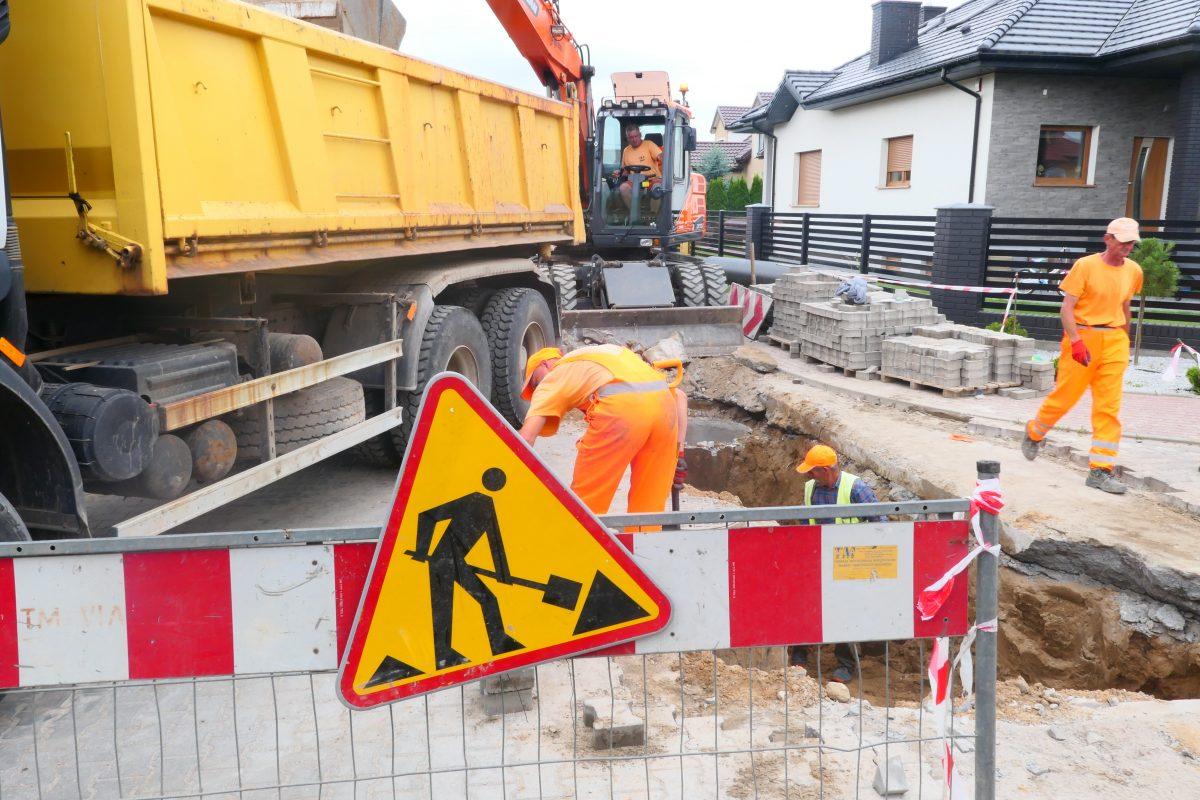 Budowa ulicy Czarnieckiego