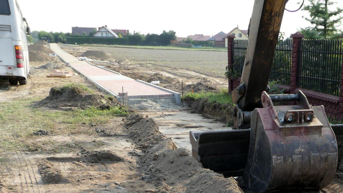 Rozpoczęły się prace na ul. Klonowej