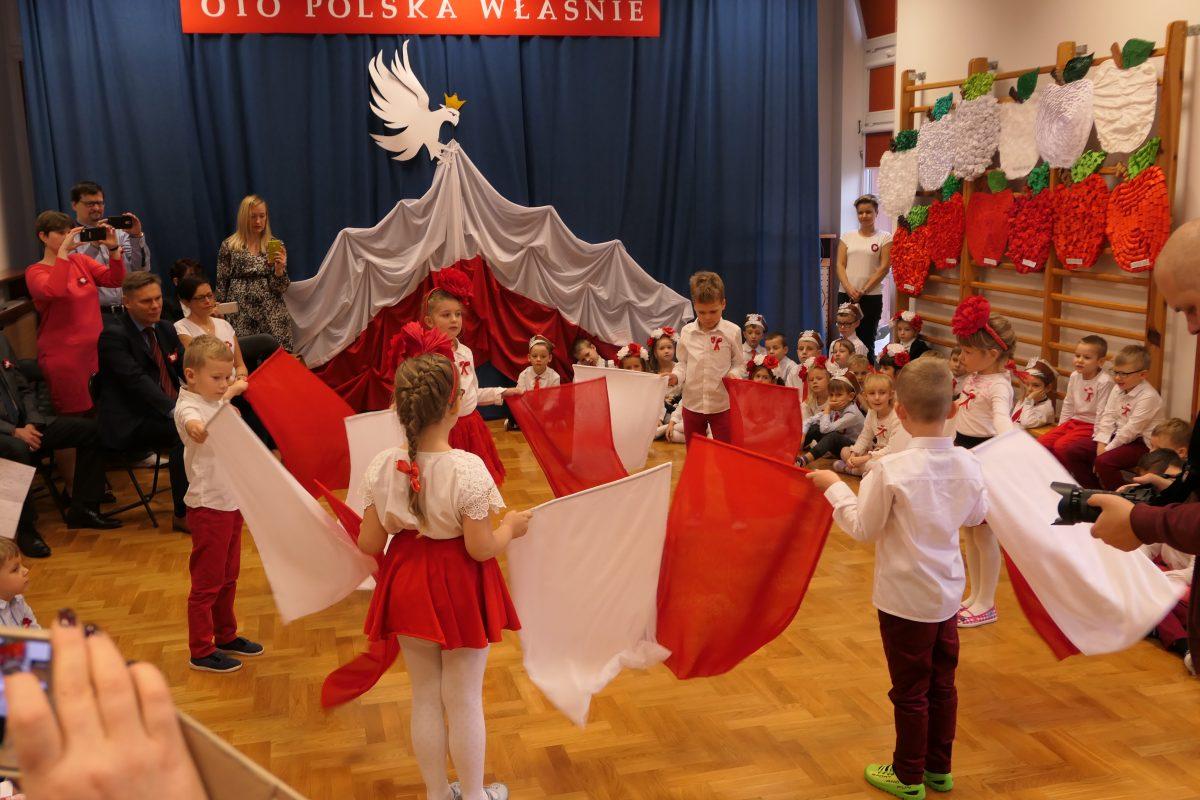 Biało-czerwone święto w przedszkolu