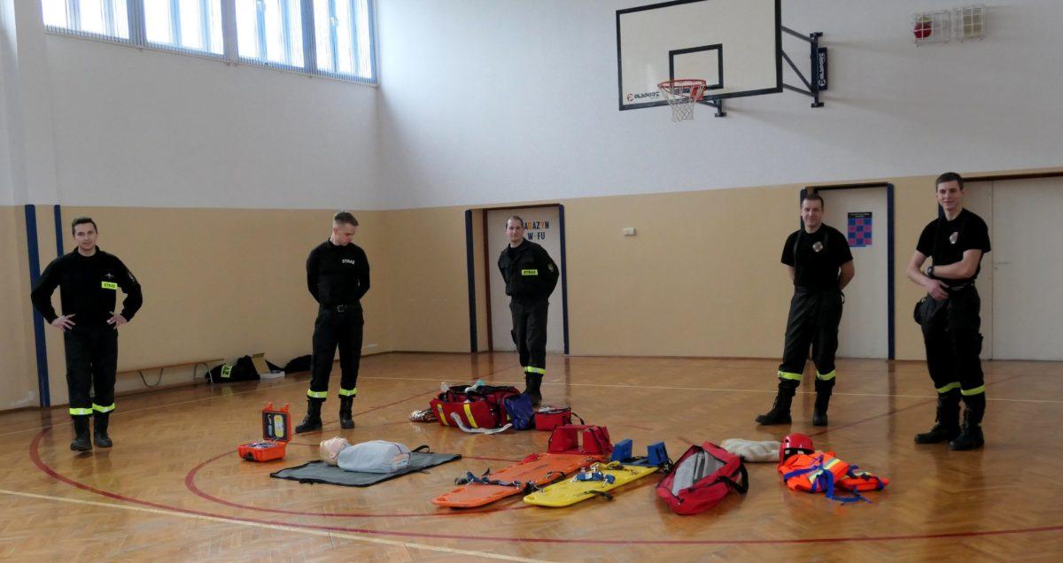 Strażacy OSP Słupno uczyli jak udzielać pierwszej pomocy