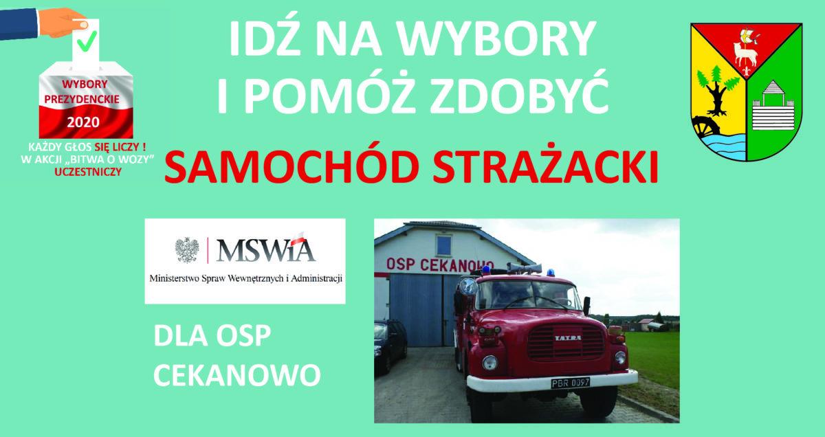 12 lipca Gmina Słupno idzie na wybory!