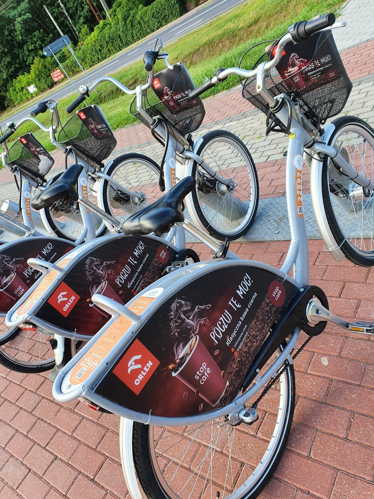 Dwie nowe stacje rowerowe w gminie Słupno